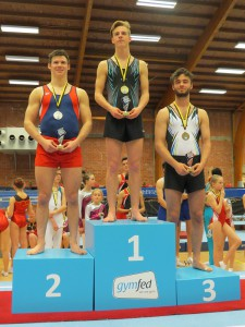 Vlaams Kampioenschap Tumbling A-niveau 2016