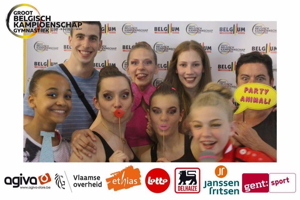 Groot Belgisch Kampioenschap Gymnastiek 2016 Gent