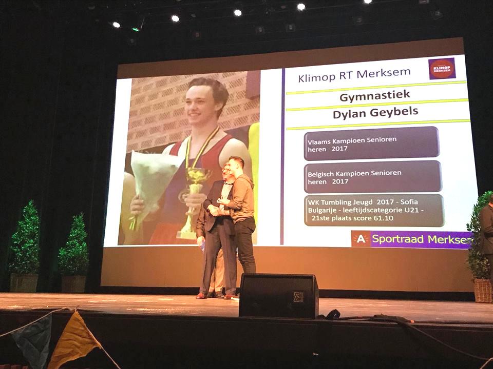 Dylan Geybels - Topsporter 2017
