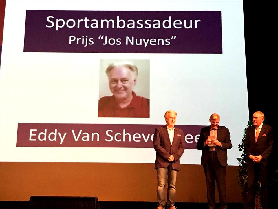 Eddy Van Schevensteen - Sportambassadeur 2017