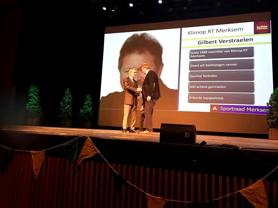 Gilbert Verstraelen - Laureaat Verdienstelijk Lid 2017