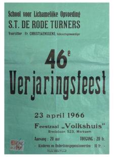 Verjaringsfeest 1966