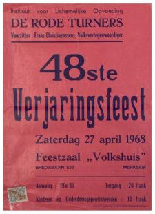 Verjaringsfeest 1968