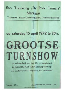 Verjaringsfeest 1972