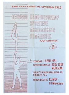 Belgisch Kampioenschap Acrobatische Gymnastiek voor Senioren 1984